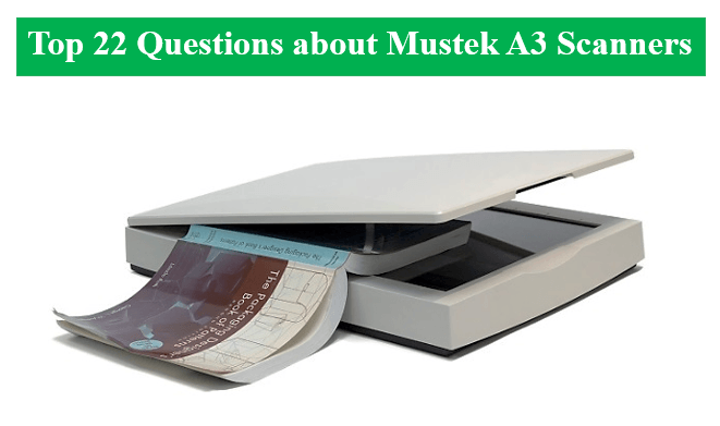 Can t find a driver for your Mustek scanner VueScan is here to help